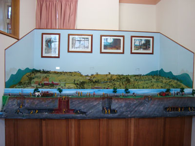 The Convict-Built Evandale to Launceston Water Scheme Diorama